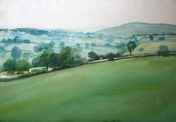 William Bowyer – Road to the Moors