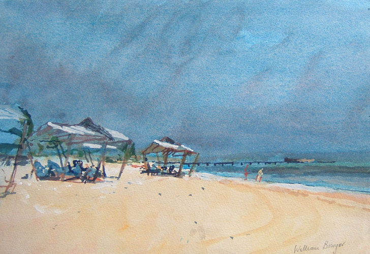 William Bowyer – The beach near Havana