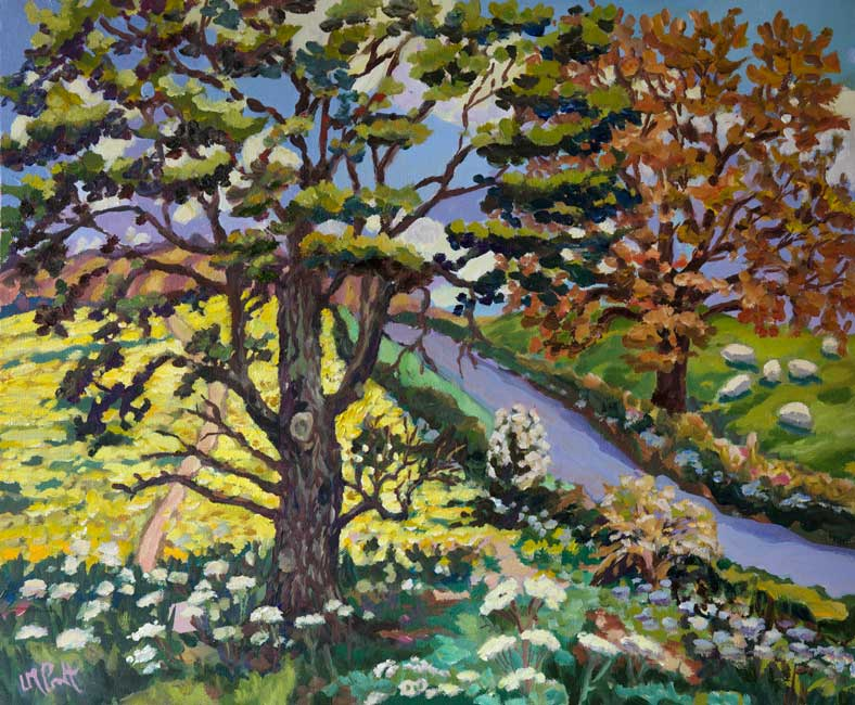 Lucy Pratt – Spring Oak and Yellows