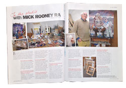 Mick Rooney interviewed by Steve Pill the editor