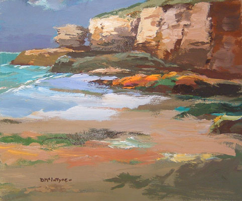 Donald McIntyre – Cliffs near Cornwall