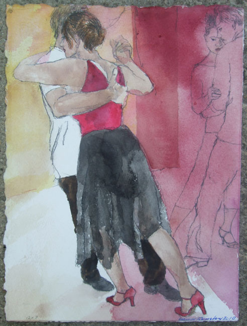 David Remfry – Dancing Couple