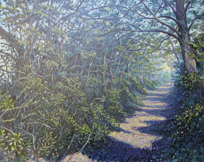 Giles Hill – Dark Lane, Finstock