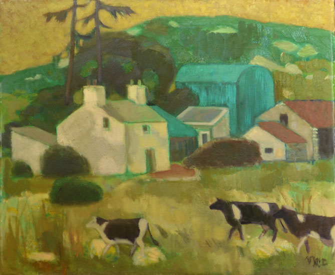 Ursula McCannell – A Farm in Dingle c1990
