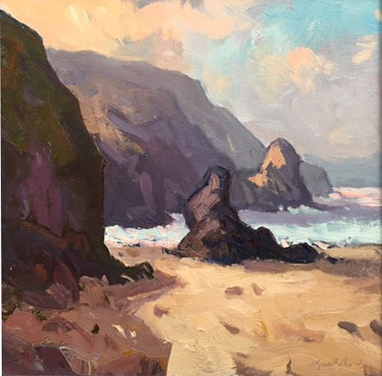 Gareth Thomas – Morning Light Llangrannog Pembrokeshire
