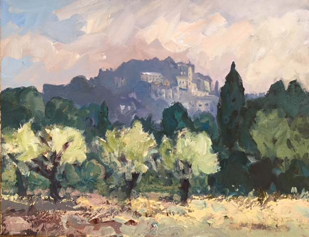 Gareth Thomas – Towards Eygalieres Provence