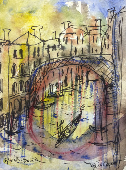 Lydia Corbett – Gondola on the Canal