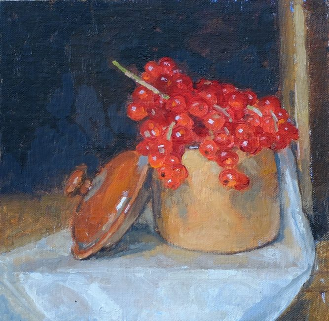 Pamela Kay – Redcurrants in the French Marmite