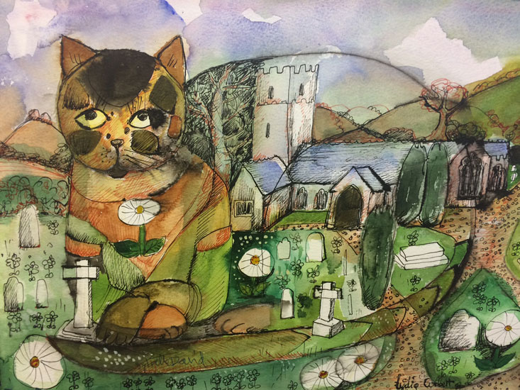 Lydia Corbett – The Cat in the Church