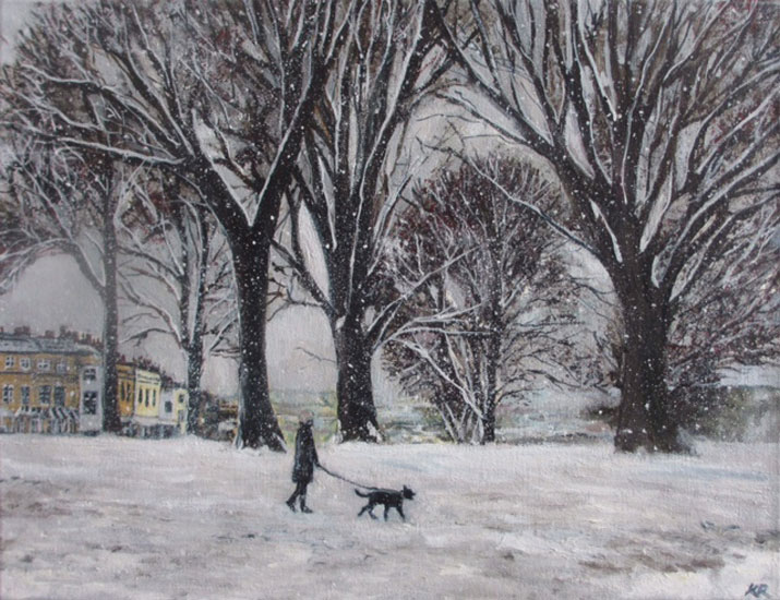 Karen Edwards – Wintery Walk