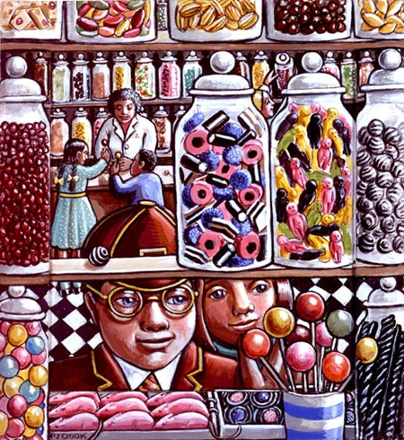 P J Crook – The Little Sweetshop