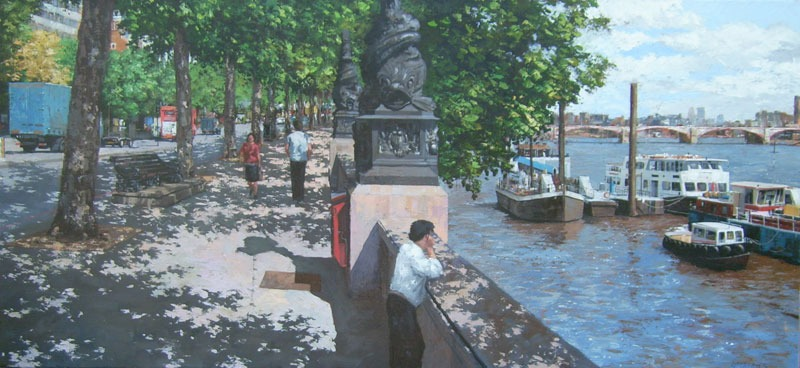 Ian Hargreaves – Thames Embankment I