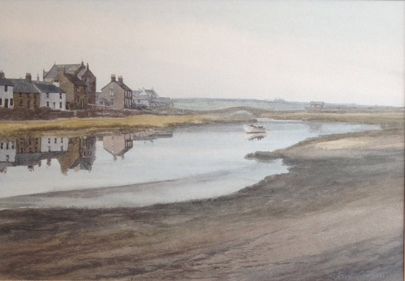 Jane Carpanini – The Estuary Aberfraw, Anglesey
