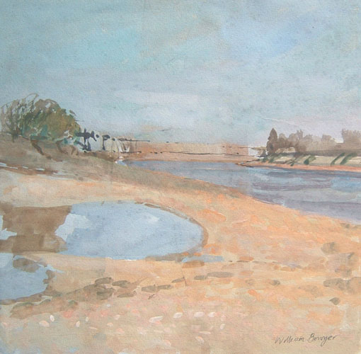 William Bowyer – Low tide at Chiswick Eyor