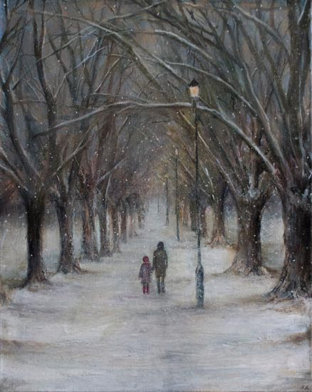 Karen Edwards – A Winter Stroll