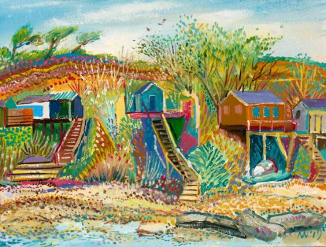 Alex Williams – Four Beach Huts