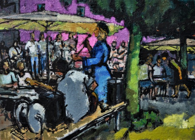 Anthony Yates – Music in the Square, Montmarcello