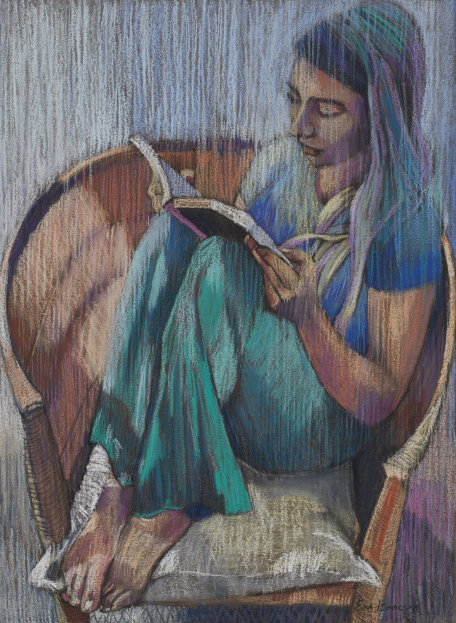 Em Isaacson – Girl Reading