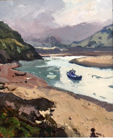 Gareth Thomas – Borth y Gest Clouds Moving