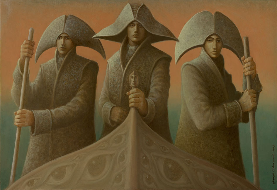 George Underwood – Three Boatmen