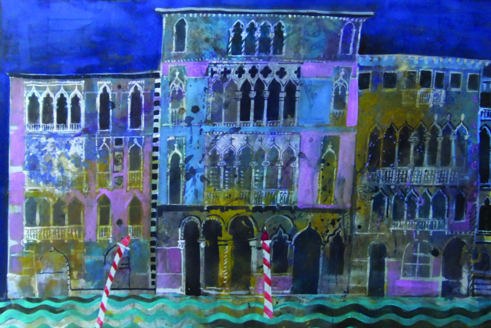 Jenny Wheatley – On the Grand Canal