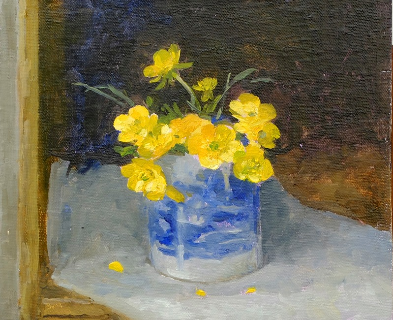Pamela Kay – Buttercups in the Spode Cup