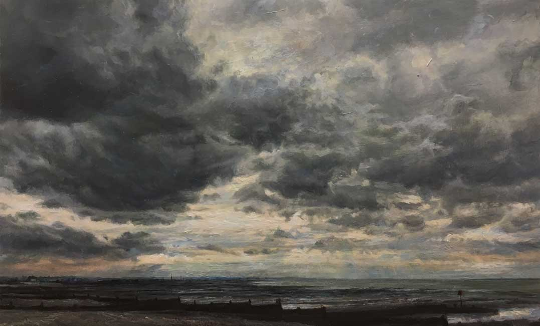 Sarah Spencer – Looking West Whitstable