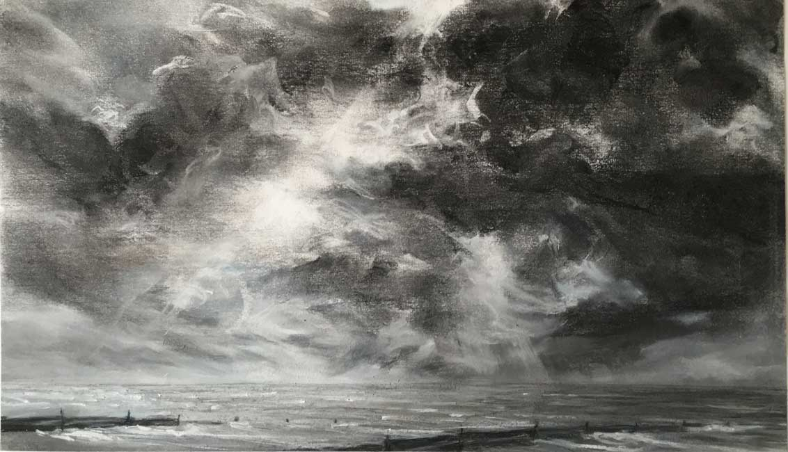 Sarah Spencer – Seascape Drawing Whitstable
