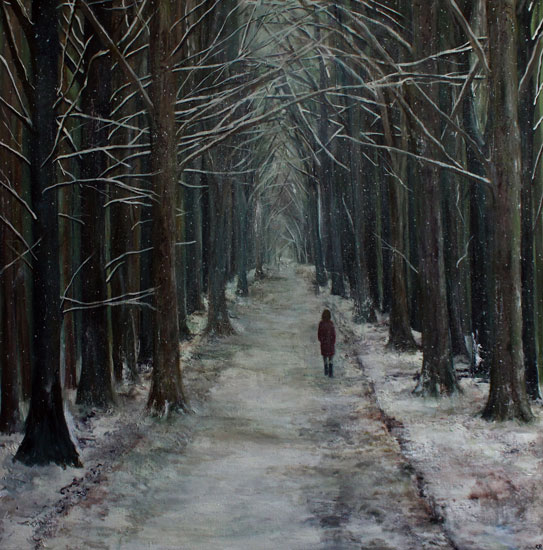 Karen Edwards – Snowy Passage