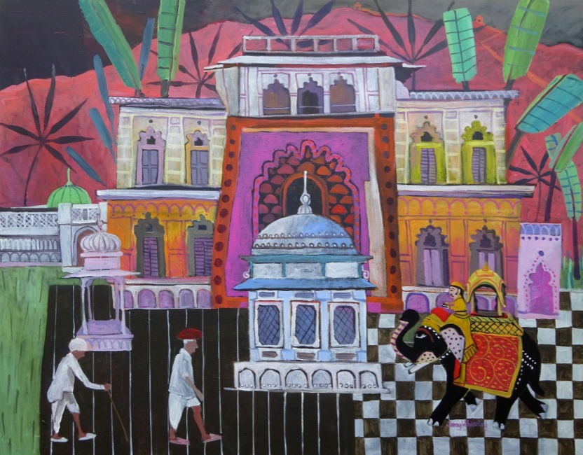 Jenny Wheatley -Painting - The Journey