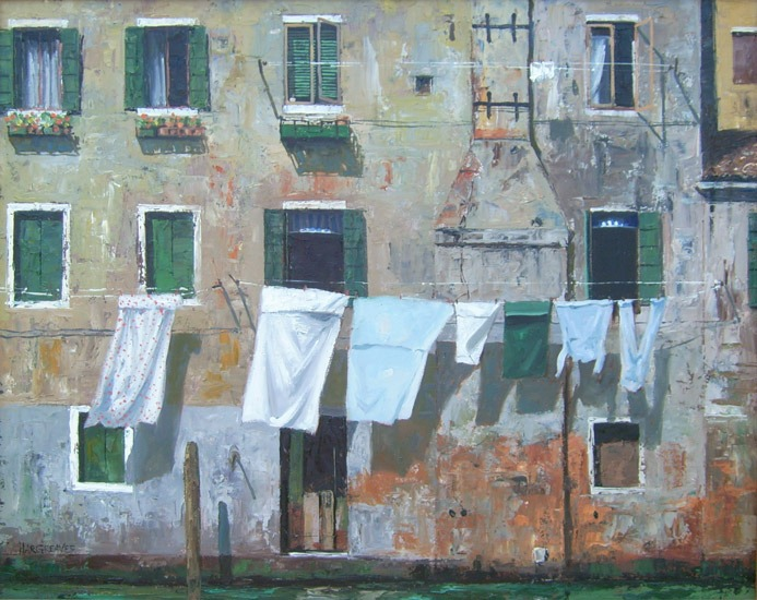 Ian Hargreaves – Venetian Washday