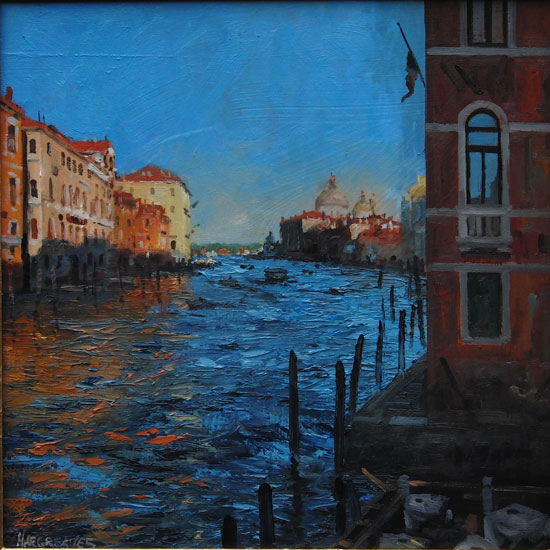 Ian Hargreaves – Autumn Shadows Grand Canal