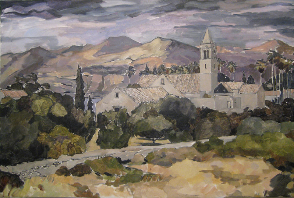 Lucien Rees Roberts – Franciscan Monastery