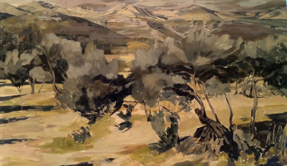 Lucien Rees Roberts – The Olive Grove