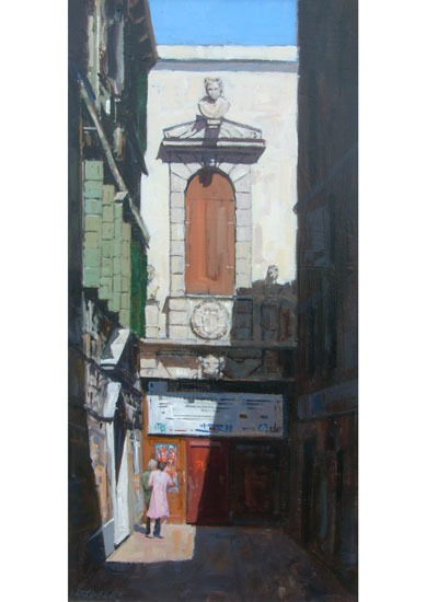 Ian Hargreaves – Venice Alleyway