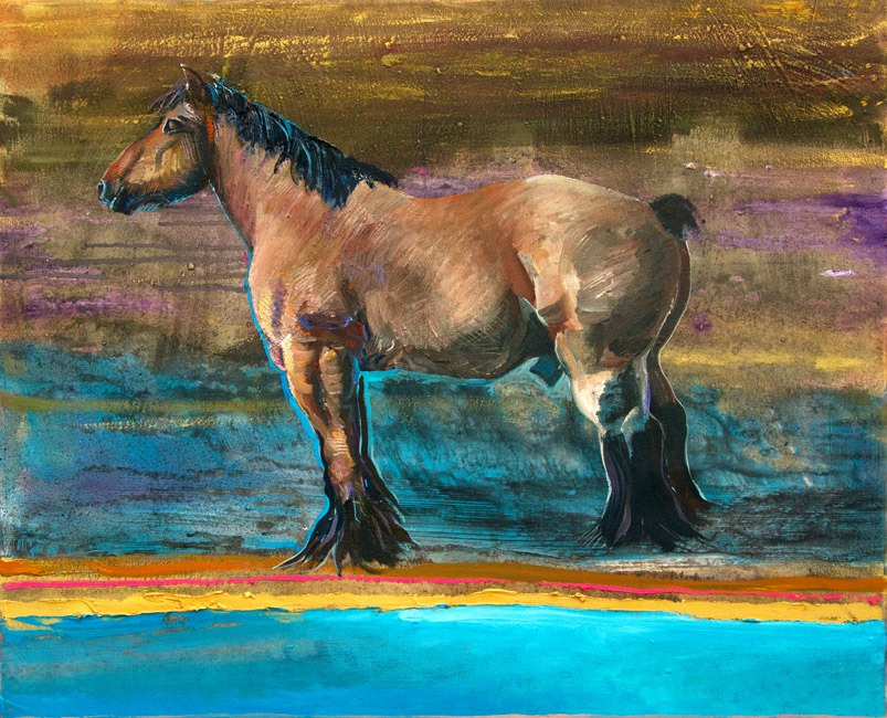 Alex Williams - Workhorse - Oil - 32 x 27 inches