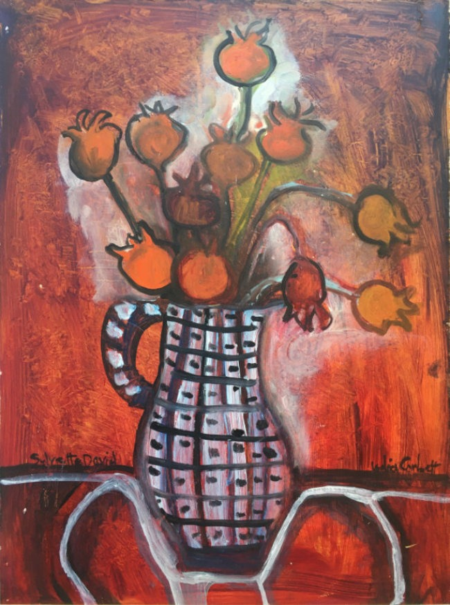Lydia Corbett - Rosehips in my Jug