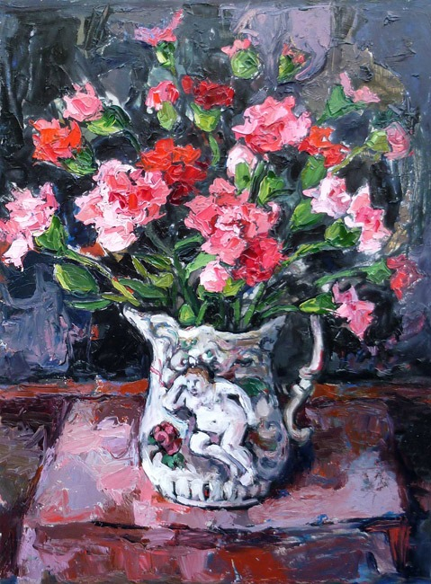Wendy Murphy - Nain's Jug - Oil on Canvas - 17 x 24 inches