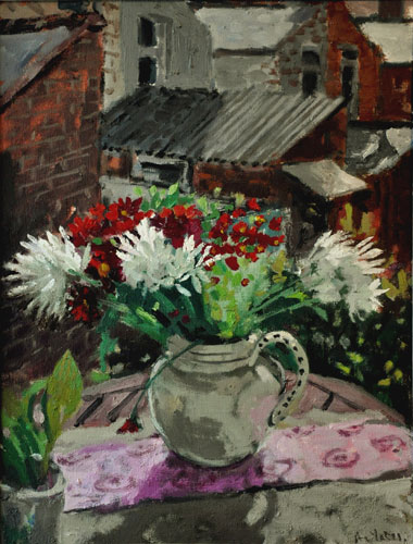 Anthony Yates - Morning Flowers - Oil on Canvas - 22 x 17 inches