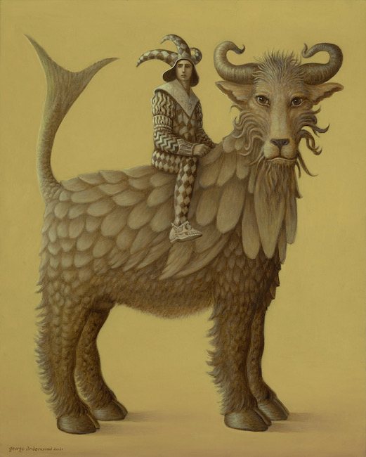 George Underwood - Fishtail Rides Again - Oil on Canvas - 24 x 30 Inches
