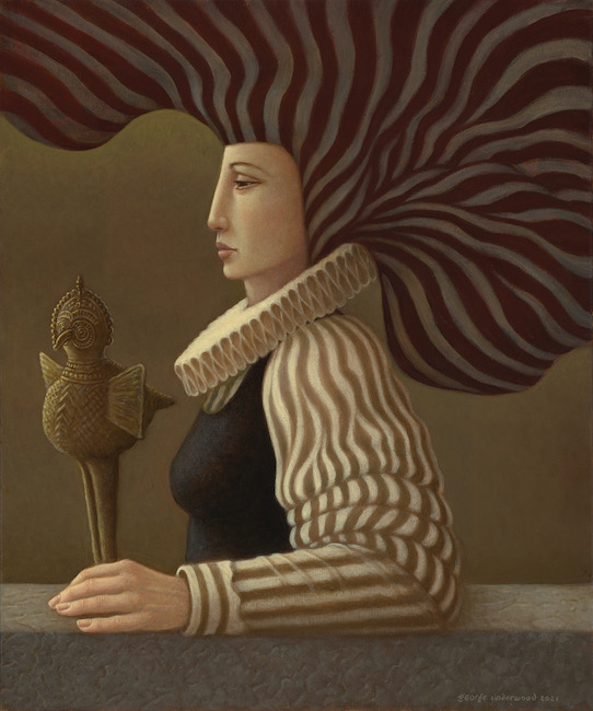 George Underwood - Momentum - Oil on Canvas - 20 x 24 Inches