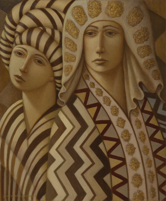 George Underwood - Style Council - Oil on Canvas - 20 x 24 Inches